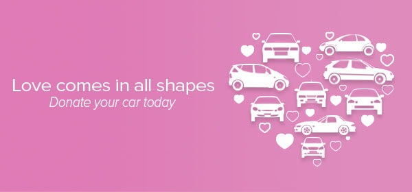 Valentine's Day Web Graphic Car Donation