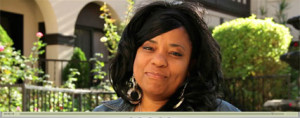 Bridgette Barnes Video thanks Catholic Charities of Los Angeles and its Good Shepherd Homeless Shelter for Women program